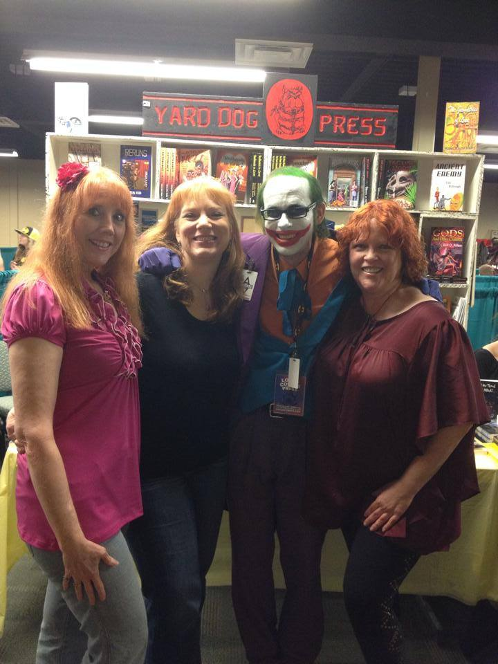 Linda Donahue, Me, Chad Elijah (as the Joker), and Julia Mandala