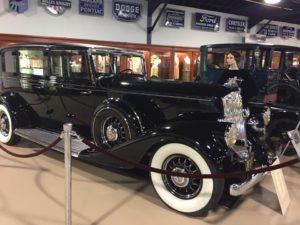 A 1932 vintage car