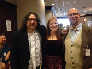 A Redhead with Rand and Adam of Ookla the Mok