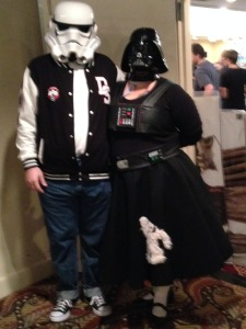 The Dark Side Sock Hop - I WOULD TOTALLY wear the Wampa Skirt (not poodle, wampa)